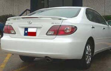 DAR Spoilers - Buick Lucerne DAR Spoilers Custom 3 Post Wing w/ Light FG-061