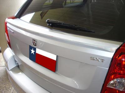 DAR Spoilers - Dodge Caliber DAR Spoilers Custom Trunk Lip Wing w/o Light FG-068