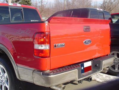 DAR Spoilers - Ford F-150 Pick Up DAR Spoilers OEM Look Tailgate Wing w/o Light FG-070