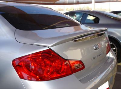 DAR Spoilers - Infiniti G35/G37 Sedan DAR Spoilers Custom Trunk Lip Wing w/o Light FG-073