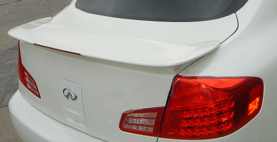 DAR Spoilers - Nissan Maxima DAR Spoilers Custom 3 Post Wing w/ Light FG-080