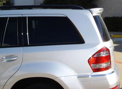 DAR Spoilers - Mercedes GL DAR Spoilers Custom Roof Wing w/o Light FG-094