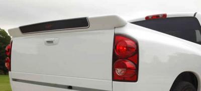 DAR Spoilers - Dodge Ram Pick-Up DAR Spoilers Custom Tailgate Wing w/o Light FG-107