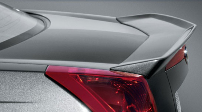 DAR Spoilers - Cadillac CTS DAR Spoilers OEM Look 3 Post Wing w/o Light FG-119