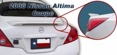 DAR Spoilers - Nissan Altima Coupe DAR Spoilers Custom 3 Post Wing w/o Light FG-121