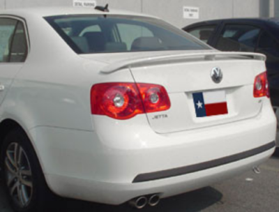DAR Spoilers - Volkswagen Jetta DAR Spoilers OEM Look 3 Post Wing w/o Light FG-125