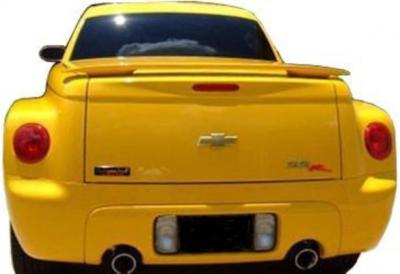 DAR Spoilers - Chevrolet Malibu DAR Spoilers OEM Look 3 Post Wing w/o Light FG-134