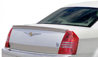 DAR Spoilers - Chrysler 300 (Large) DAR Spoilers Custom Trunk Lip Wing w/o Light FG-135