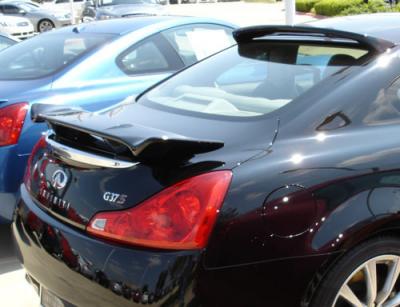 DAR Spoilers - Infiniti G37 Coupe DAR Spoilers Custom 3 Post Wing w/o Light FG-140