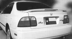 DAR Spoilers - Toyota Echo DAR Spoilers Custom 3 Post Wing w/ Light FG-155