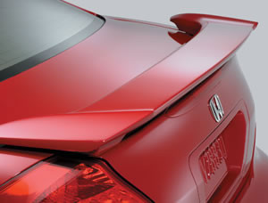 DAR Spoilers - Honda Accord 2-Dr DAR Spoilers OEM Look 3 Post Wing w/o Light FG-163