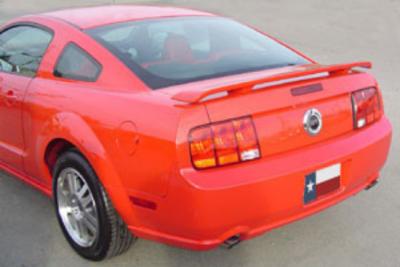 DAR Spoilers - Ford Mustang DAR Spoilers OEM Look 3 Post Wing w/o Light FG-165