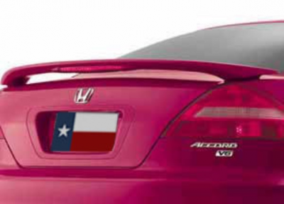 DAR Spoilers - Honda Accord 4-Dr DAR Spoilers OEM Look 3 Post Wing w/ Light FG-171