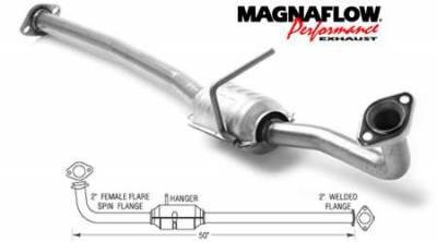 MagnaFlow - MagnaFlow Direct Fit Catalytic Converter - 22615