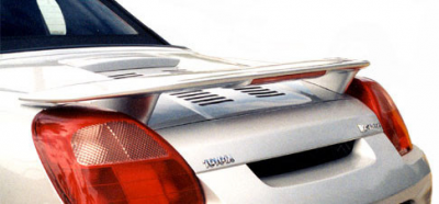 DAR Spoilers - Toyota MR2 Spyder DAR Spoilers OEM Look 3 Post Wing w/ Light FG-174