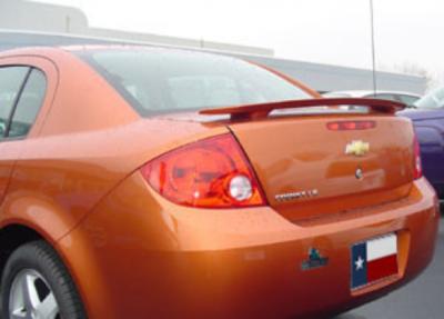 DAR Spoilers - Chevrolet CobaLT 4-Dr DAR Spoilers OEM Look 3 Post Wing w/o Light FG-176