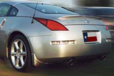 DAR Spoilers - Nissan 350Z Coupe DAR Spoilers OEM Look Trunk Lip Wing w/o Light FG-178