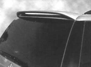 DAR Spoilers - Mercedes ML320/430/500 DAR Spoilers Custom Roof Wing w/o Light FG-192