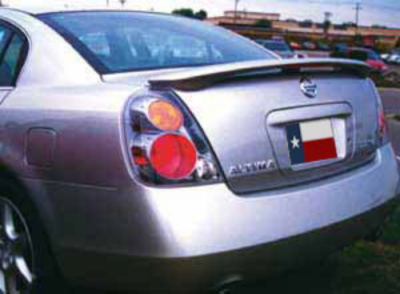 DAR Spoilers - Nissan Altima DAR Spoilers OEM Look 3 Post Wing w/ Light FG-195