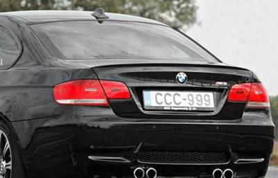 DAR Spoilers - Bmw 3 Series Convertible DAR Spoilers OEM Look Trunk Lip Wing w/o Light FG-209