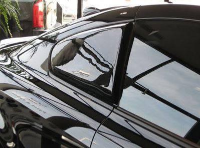 DAR Spoilers - Infiniti G37 Coupe DAR Spoilers Custom Side Rear Wing w/o Light FG-212