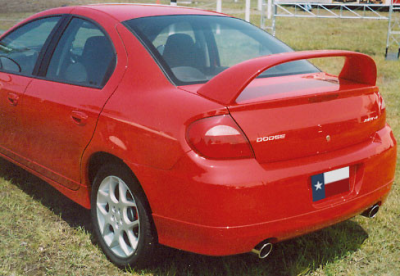 DAR Spoilers - Dodge Neon Srt Hi-Wing DAR Spoilers OEM Look 3 Post Wing w/o Light FG-220