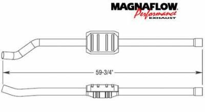 MagnaFlow - MagnaFlow Direct Fit Catalytic Converter - 23233
