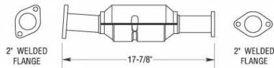 MagnaFlow - MagnaFlow Direct Fit Catalytic Converter - 23249