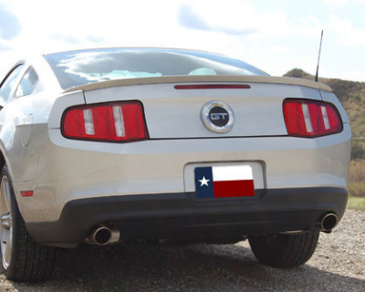 DAR Spoilers - Ford Mustang DAR Spoilers OEM Look Trunk Lip Wing w/o Light FG-247