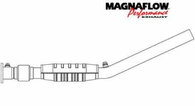 MagnaFlow - MagnaFlow Direct Fit Catalytic Converter - 23266