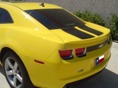DAR Spoilers - Chevrolet Camaro DAR Spoilers OEM Look Trunk Lip Wing w/o Light FG-249