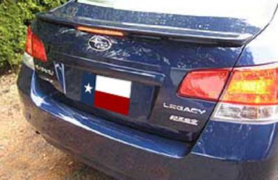 DAR Spoilers - Subaru Legacy DAR Spoilers OEM Look Flush Wing w/ Clear Light FG-258