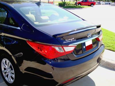 DAR Spoilers - Hyundai Sonata DAR Spoilers Custom 3 Post Wing w/o Light FG-264