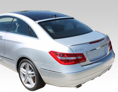 DAR Spoilers - Mercedes E-Class Coupe DAR Spoilers OEM Look Trunk Lip Wing w/o Light FG-284