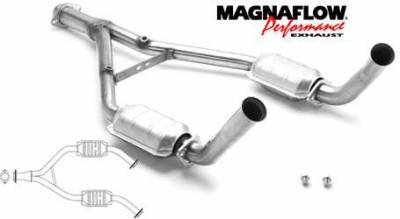MagnaFlow - MagnaFlow Direct Fit Y-Pipe Catalytic Converter - 23340