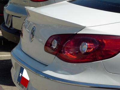 DAR Spoilers - Volkswagen CC DAR Spoilers Custom Trunk Lip Wing w/o Light FG-287