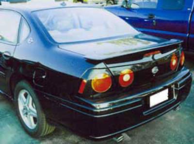 DAR Spoilers - Chevrolet Impala Ss DAR Spoilers OEM Look Flush Wing w/o Light FG-292