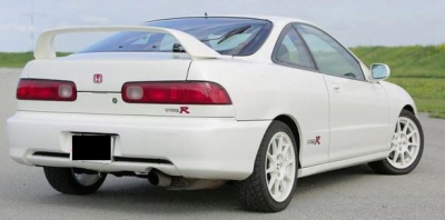 "DAR Spoilers - Acura Integra ""Type R"" DAR Spoilers OEM Look 3 Post Wing w/o Light FG-293"