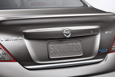 DAR Spoilers - Nissan Versa Sedan DAR Spoilers OEM Look Flush Wing w/o Light FG-297