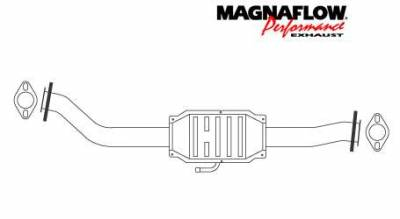 MagnaFlow - MagnaFlow Direct Fit Catalytic Converter - 23373