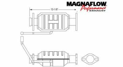 MagnaFlow - MagnaFlow Direct Fit Catalytic Converter - 23383