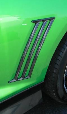 Retro USA - Chevrolet Camaro Retro USA Quarter Molding Set - Paintable - CA1QM-A-U