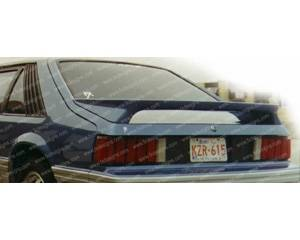 FX Designs - Ford Mustang FX Design GT Style Paintable Wings - FX-01