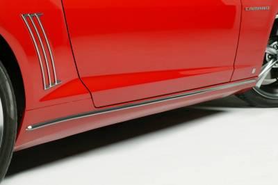 Retro USA - Chevrolet Camaro Retro USA Rocker Molding Set - CA1RM-A