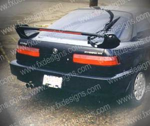 FX Designs - Acura Integra FX Design Paintable Wings Style Combat Wing with Lights - FX-148L