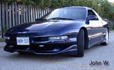 FX Designs - Ford Probe FX Design Series 2 Style Front Chin Spoiler - FX-304