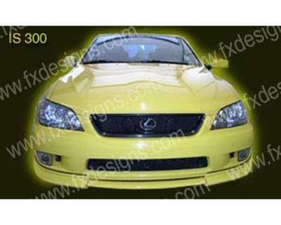 FX Designs - Lexus IS FX Design Front Chin Spoiler - FX-6EBCH