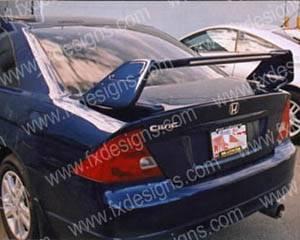 FX Design - Honda Civic FX Design TRD Style Spoiler - FX-777