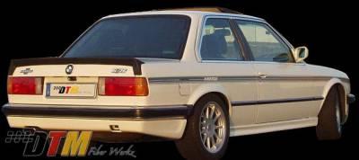DTM Fiberwerkz - BMW 3 Series DTM Fiberwerkz Hartge Alpina Style Rear Spoiler - E30 Hartge/