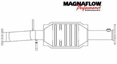 MagnaFlow - MagnaFlow Direct Fit Catalytic Converter - 23497